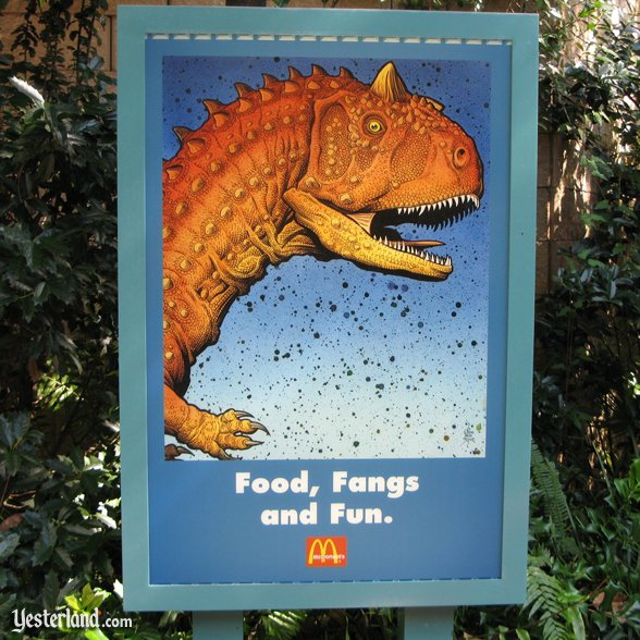 "McDonald's ""Food, Fangs, and Fun"" poster: 2007 by Werner Weiss."