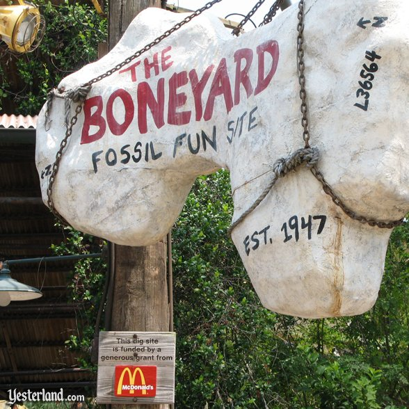Boneyard Fossil Fun Site: 2007 by Werner Weiss.