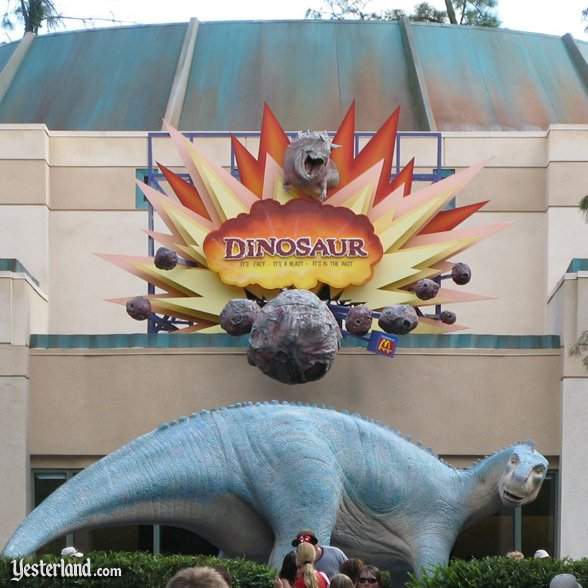 Dinosaur attraction sign: 2007 by Werner Weiss.