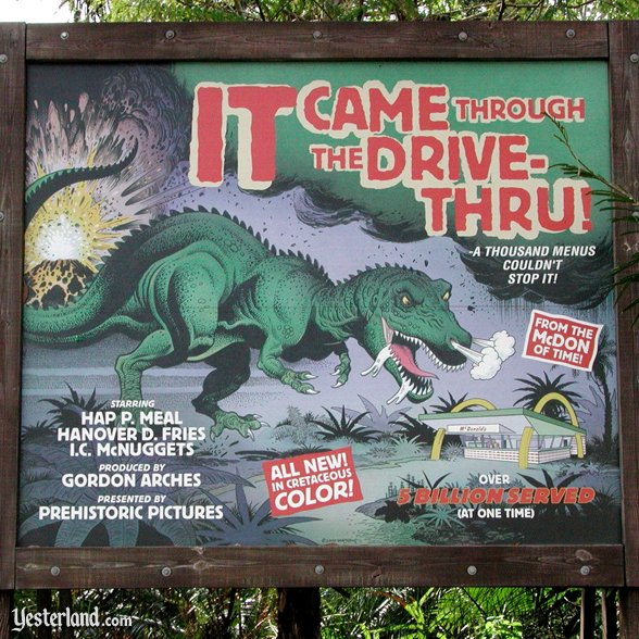 Animal Kingdom movie sign parody: 2006 by Werner Weiss.