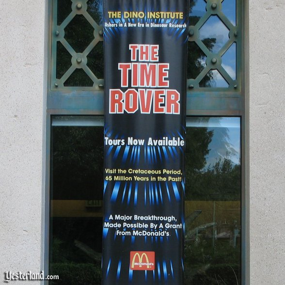"Dinosaur ""The Time Rover"" banner: 2007 by Werner Weiss."