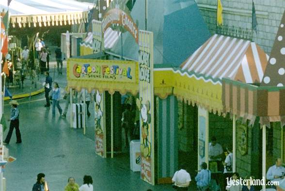 Photo of Fantasyland in 1974 (detail)