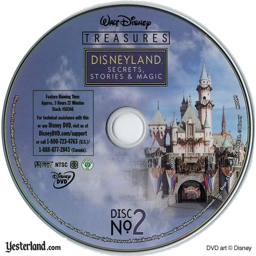 Scan of Disneyland: Secrets, Stories & Magic, disc 2