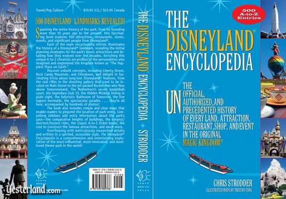 Front and back cover of The Disneyland Encyclopedia
