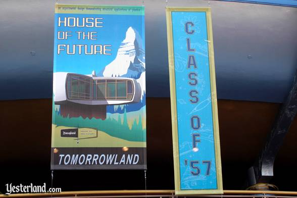 Photo of House of the Future on banner in 2005