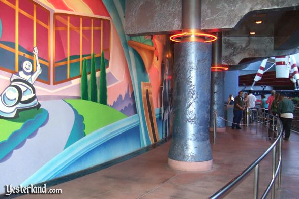Photo of House of the Future on Innoventions exterior mural