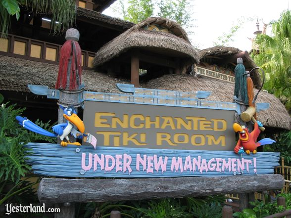 Tiki Room Under New Management at Magic Kingdom
