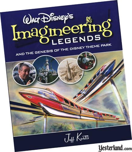 Scan of Walt Disney's Imagineering Legends book cover