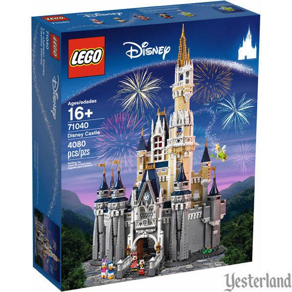 LEGO Sleeping Beauty Castle kit