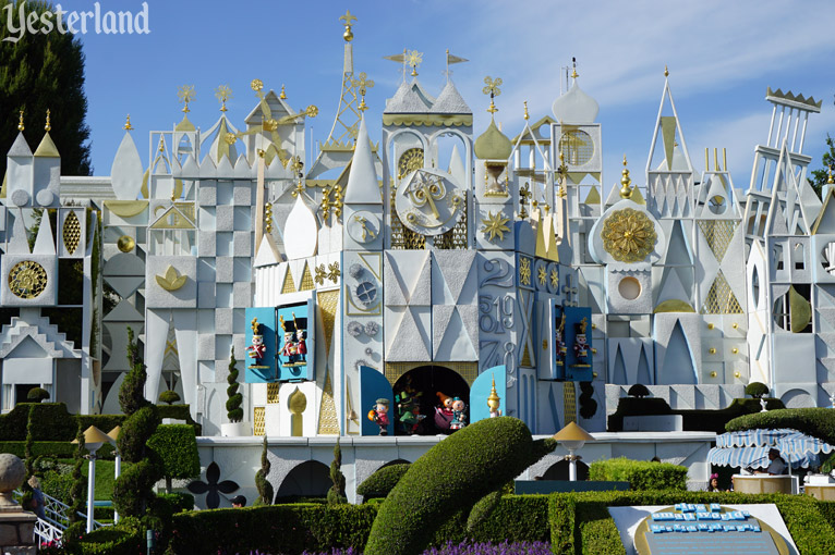 """it's a small world"" at Disneyland"