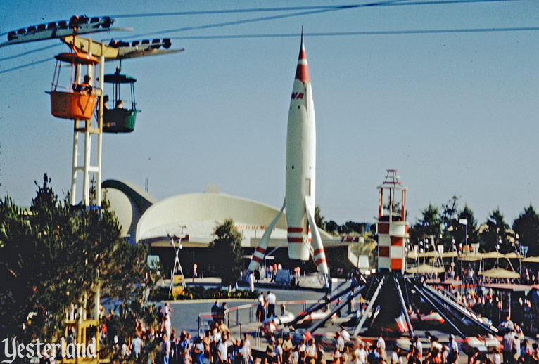 Moonliner at Rocket to the Moon in Tomorrowland