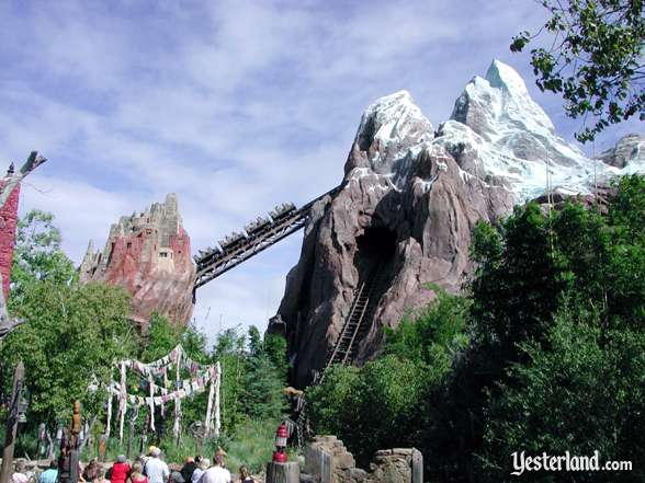 Photo of Expedition Everest in operation at Disney's Animal Kingdom: 2006 by Werner Weiss