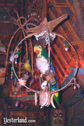 Photo of Parrot in Tiki Room