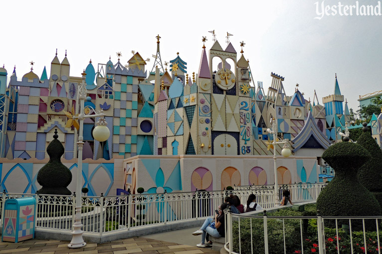 """it's a small world"" at Hong Kong Disneyland"