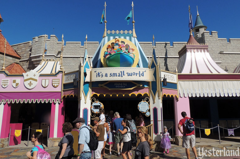 """it's a small world"" at Magic Kingdom Park"