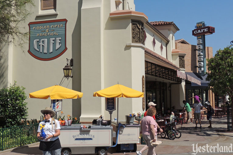 Fiddler, Fifer and Practical Cafe at Disney California Adventure