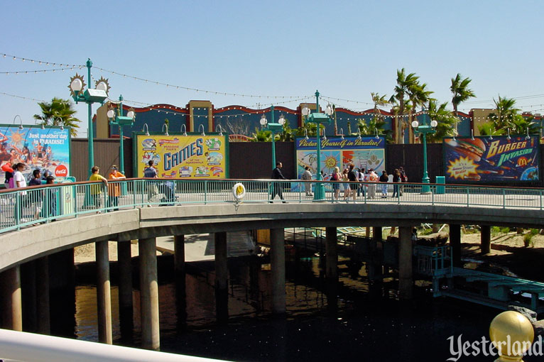 Billboards of Paradise Pier at Disney California Adventure