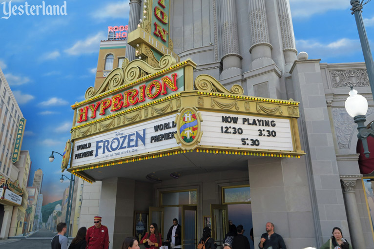 Frozen live musical at Disney California Adventure