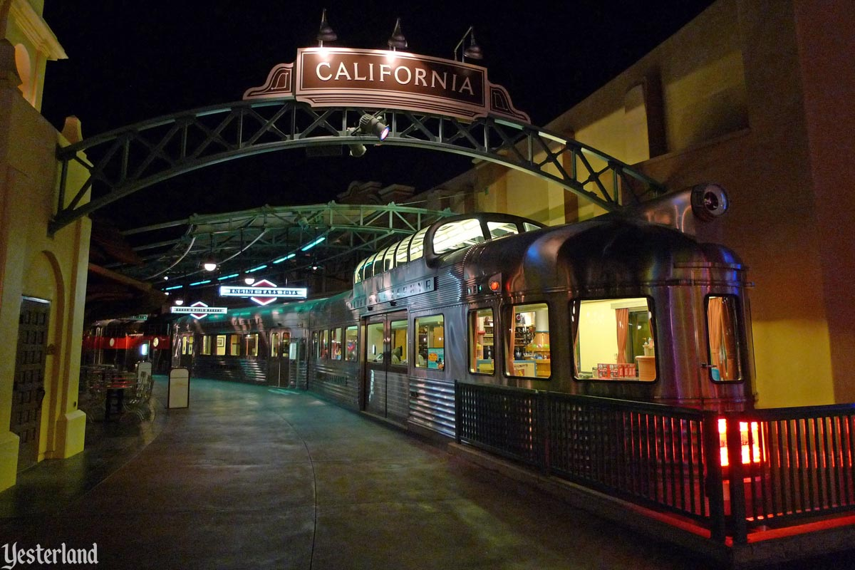 California Zephyr at Disney's California Adventure