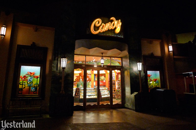 Former Candy Shoppe at Disney California Adventure