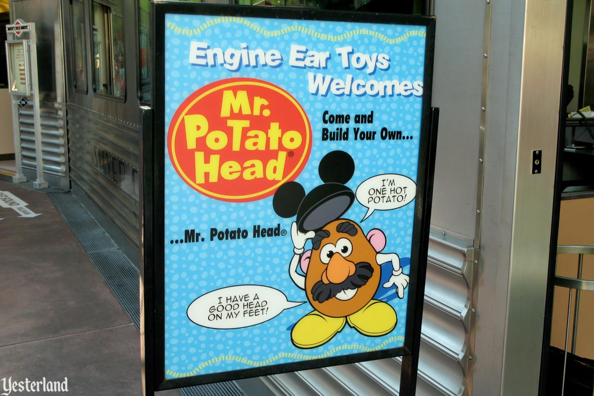 Engine-Ears Toys at Disney's California Adventure