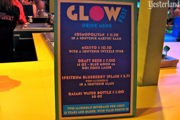 Glow Fest at Disney California Adventure