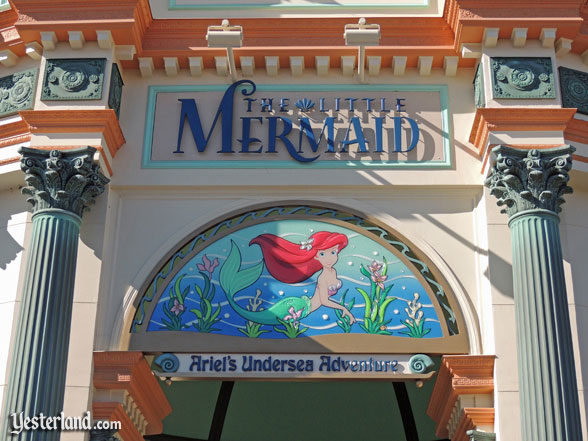 Sign for The Little Mermaid: Ariel's Undersea Adventure