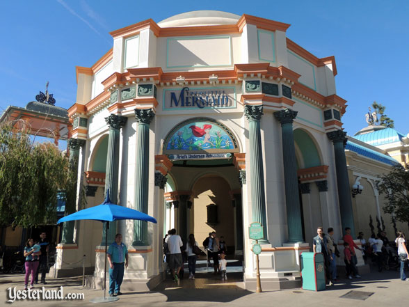 Rotunda for The Little Mermaid: Ariel's Undersea Adventure