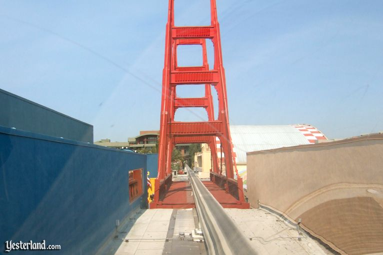 Golden Gate Bridge at Disney's California Adventure