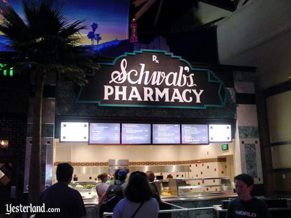 Photograph of Schwab's Pharmacy at Hollywood & Dine