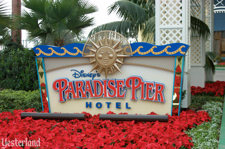 Paradise Pier Hotel at Disney California Adventure