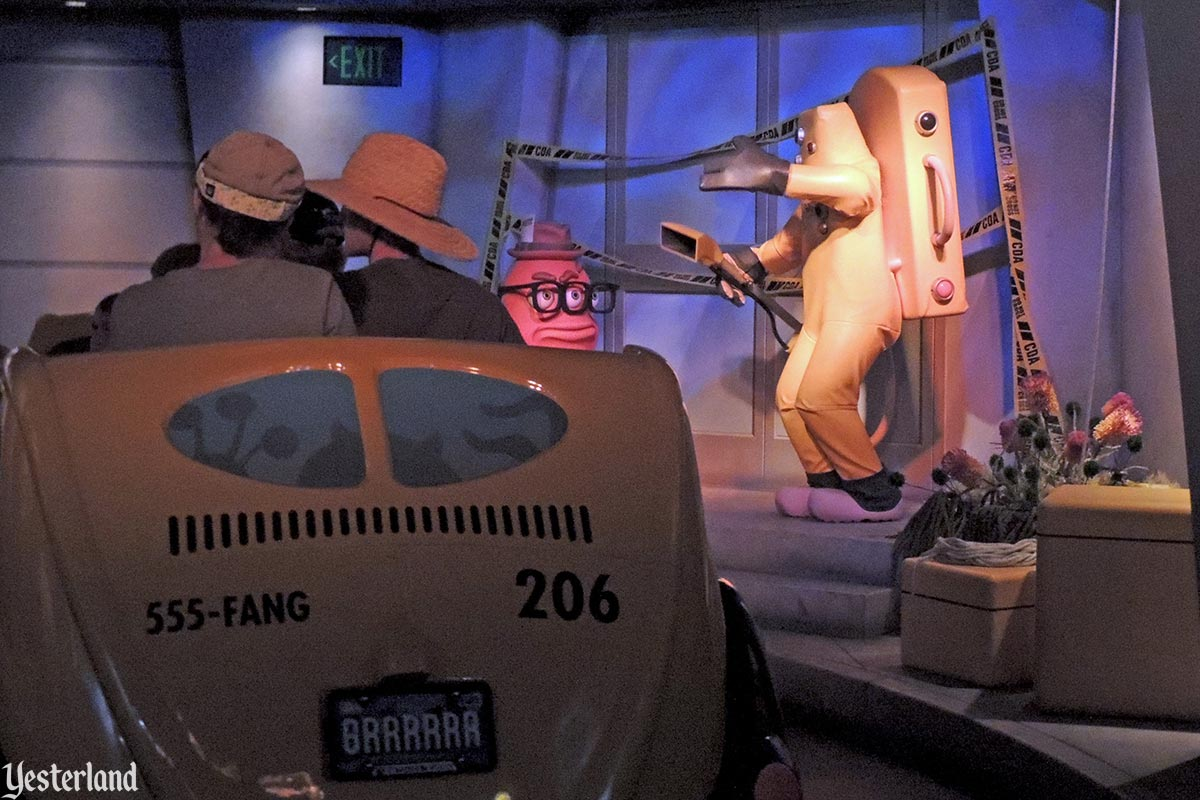 Monsters, Inc. Mike & Sulley to the Rescue! at Disney California Adventure