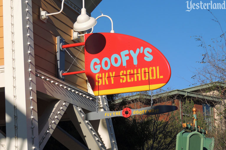 Goofy's Sky School at Disney's California Adventure