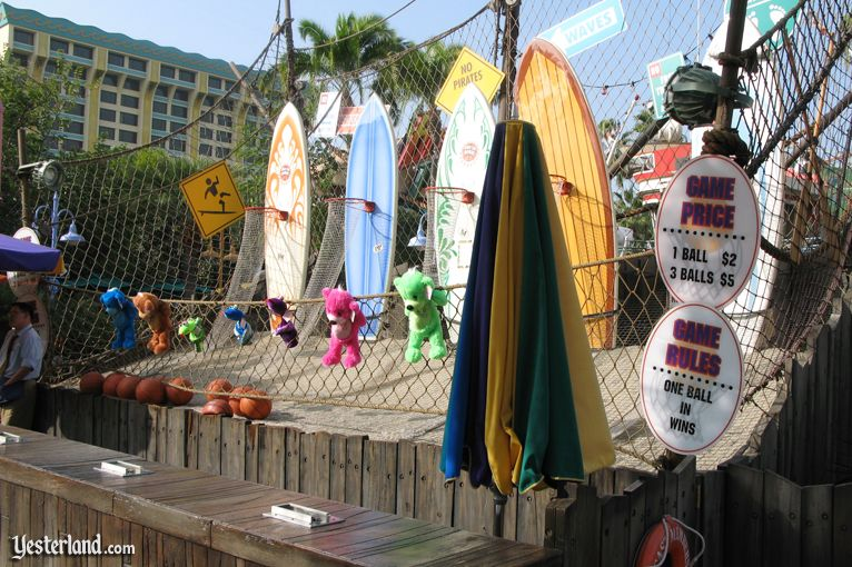 Reboundo Beach at Disney's California Adventure