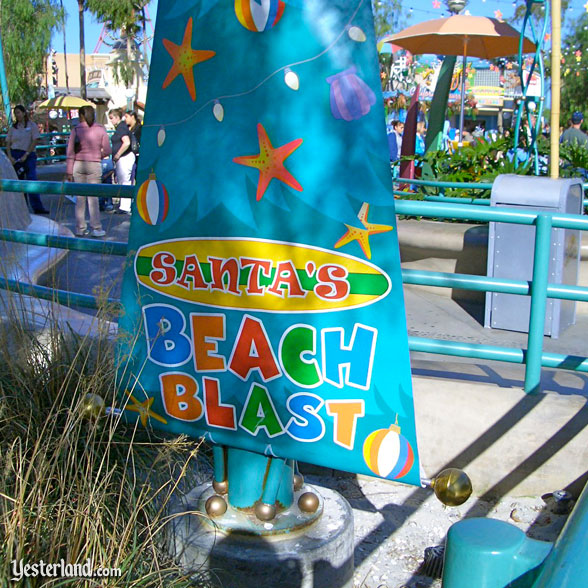 Santa's Beach Blast at Disney's California Adventure