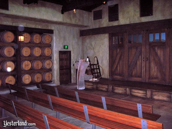 Seasons of the Vine theater interior