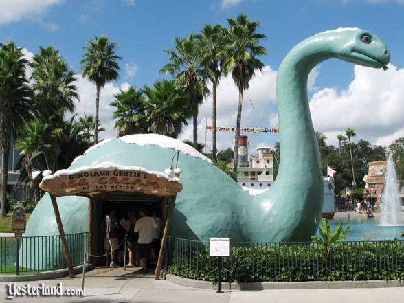Photo of Dinosaur Gertie's Ice Cream of Extinction at Disney's Hollywood Studios: 2007 by Werner Weiss.