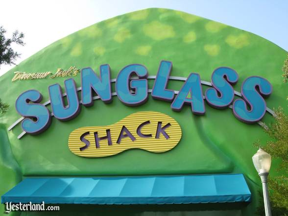 Photo of Sunglass Shack sign: 2007 by Werner Weiss.