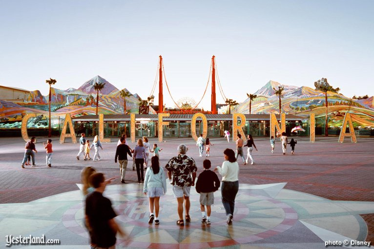 Sunshine Plaza at Disney's California Adventure
