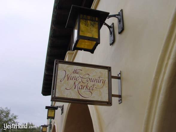 Wine Country Market sign