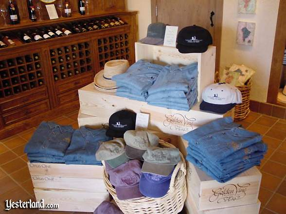 Wine Country Market shirts and caps
