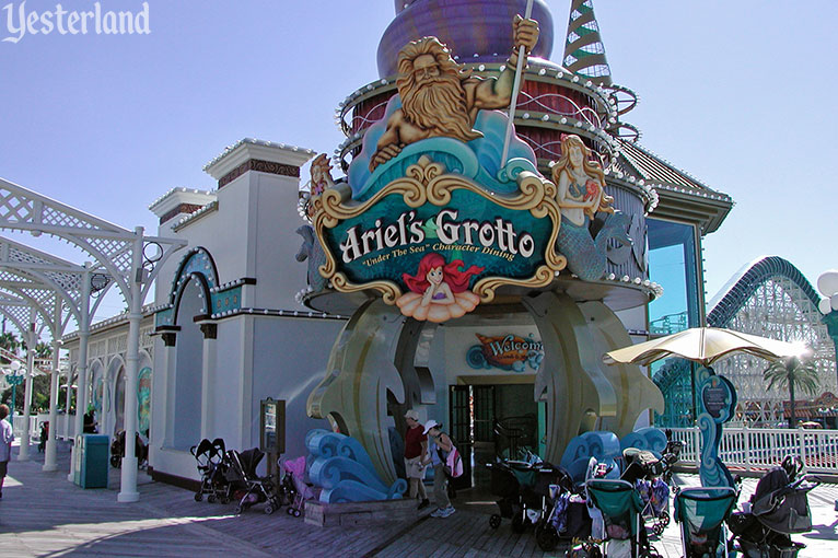 Ariel's Grotto at Disney's California Adventure, 2006