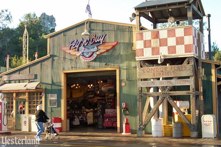 Fly 'n' Buy store at Disney Califrnia Adventure