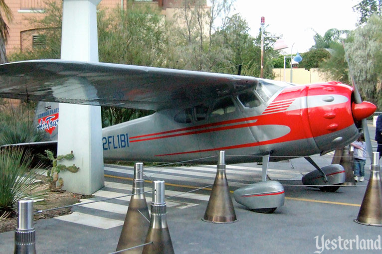 Condor Flats Air Tours aircraft at Disney's California Adventure