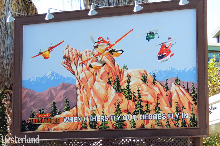Planes: Fire & Rescue billboard