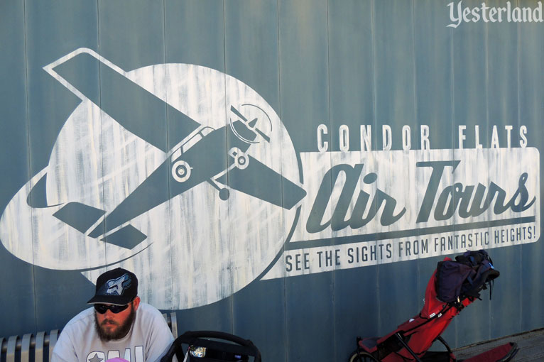 Condor Flats Air Tours sign