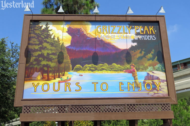 Grizzly Peak billboard