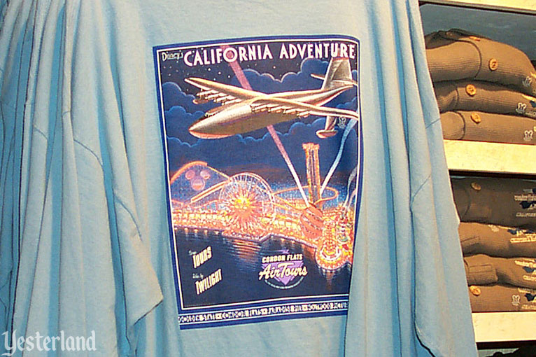 Condor Flats Air Tours shirt, 2001
