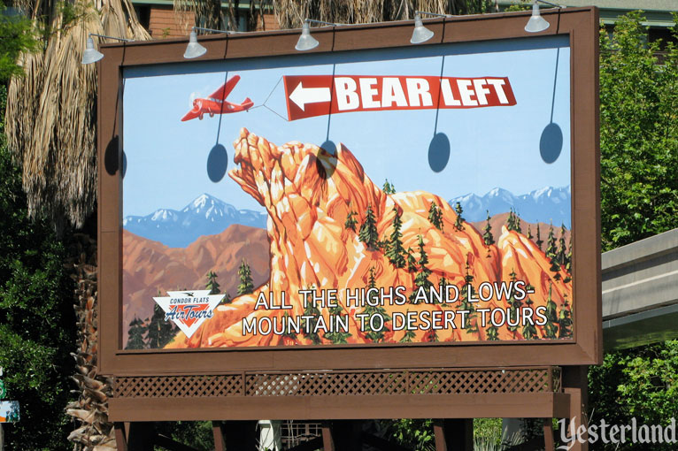 Condor Flats Air Tours billboard