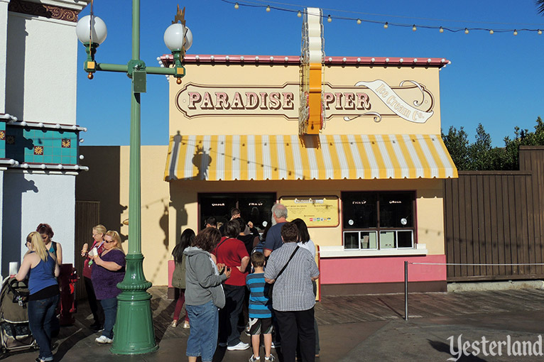 Paradise Pier Ice Cream Co. at Disney California Adventure